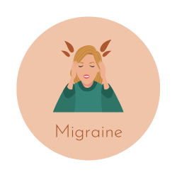 Migraine luxopuncture